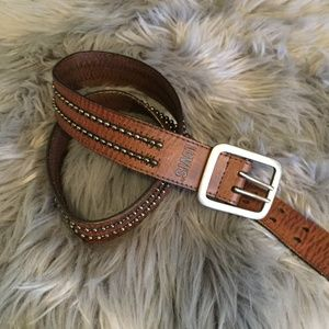 Levi's Leather Belt With Studs